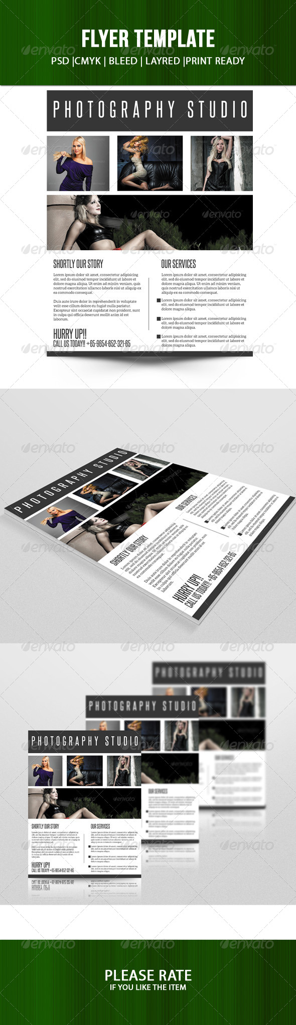 GraphicRiver Business Flyer Template 7139441