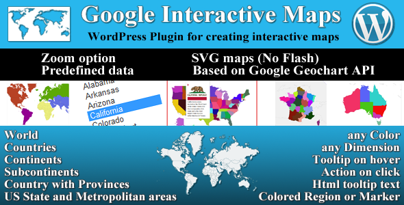 CodeCanyon Google Interactive Maps 7056920