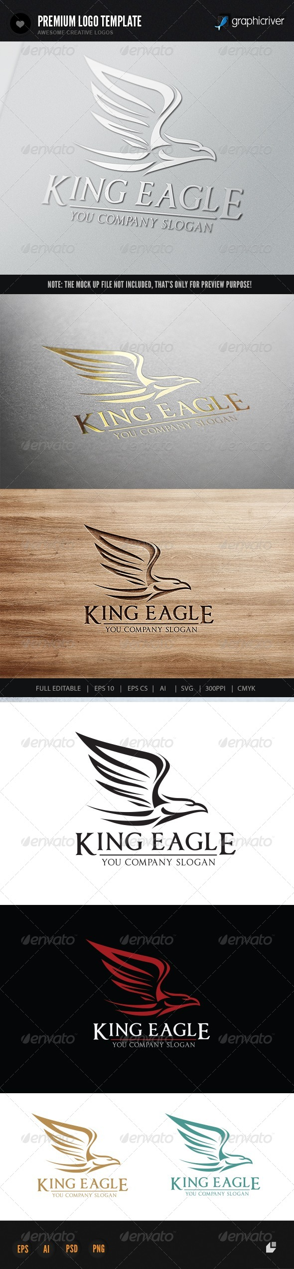 GraphicRiver King Eagle 7138333