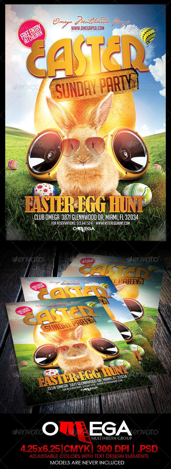 GraphicRiver Easter Sunday Party 7151121