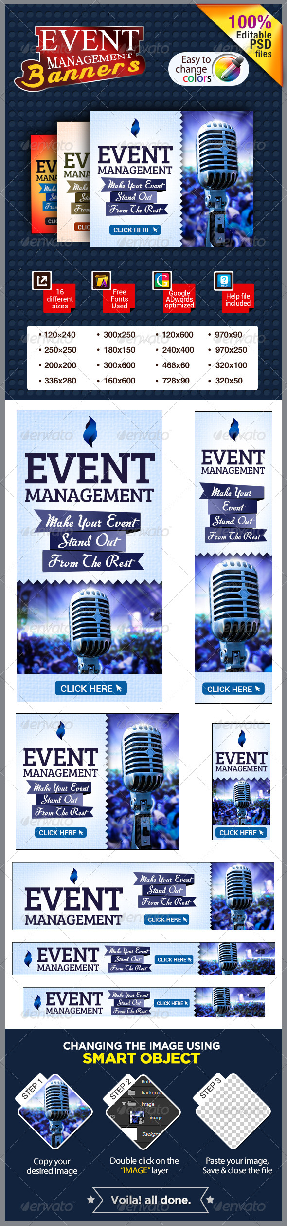 GraphicRiver Event Management Banners 7151420