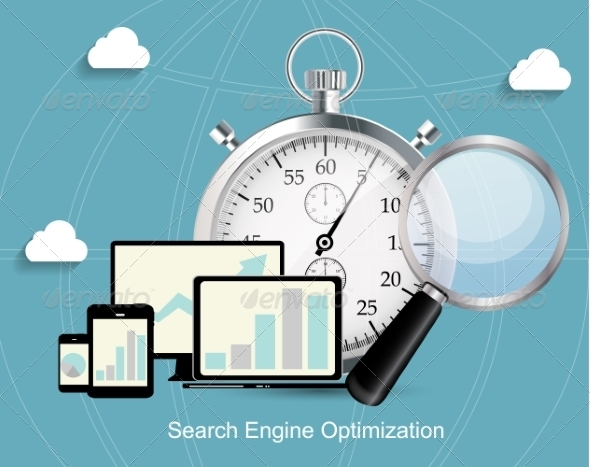 GraphicRiver Search Engine Optimization Flat Icon 7151594
