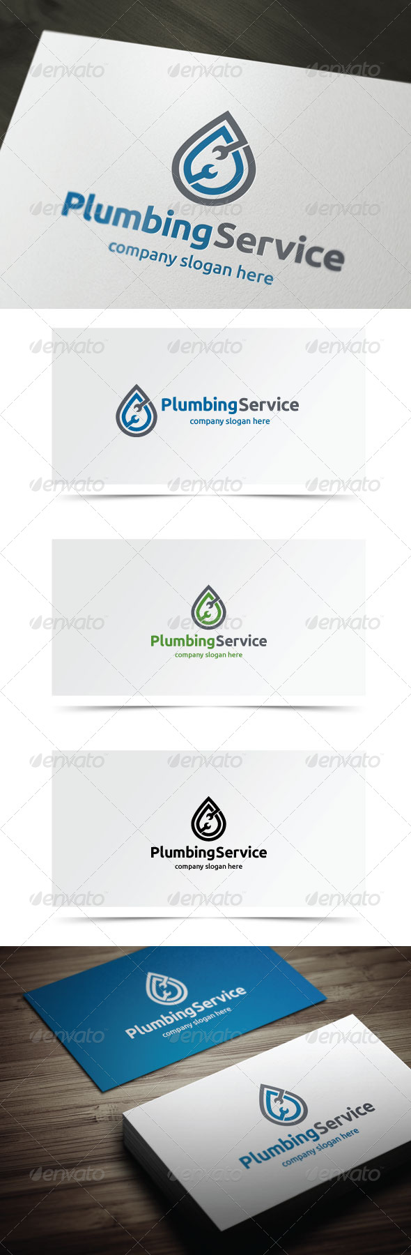 GraphicRiver Plumbing Service 7151761