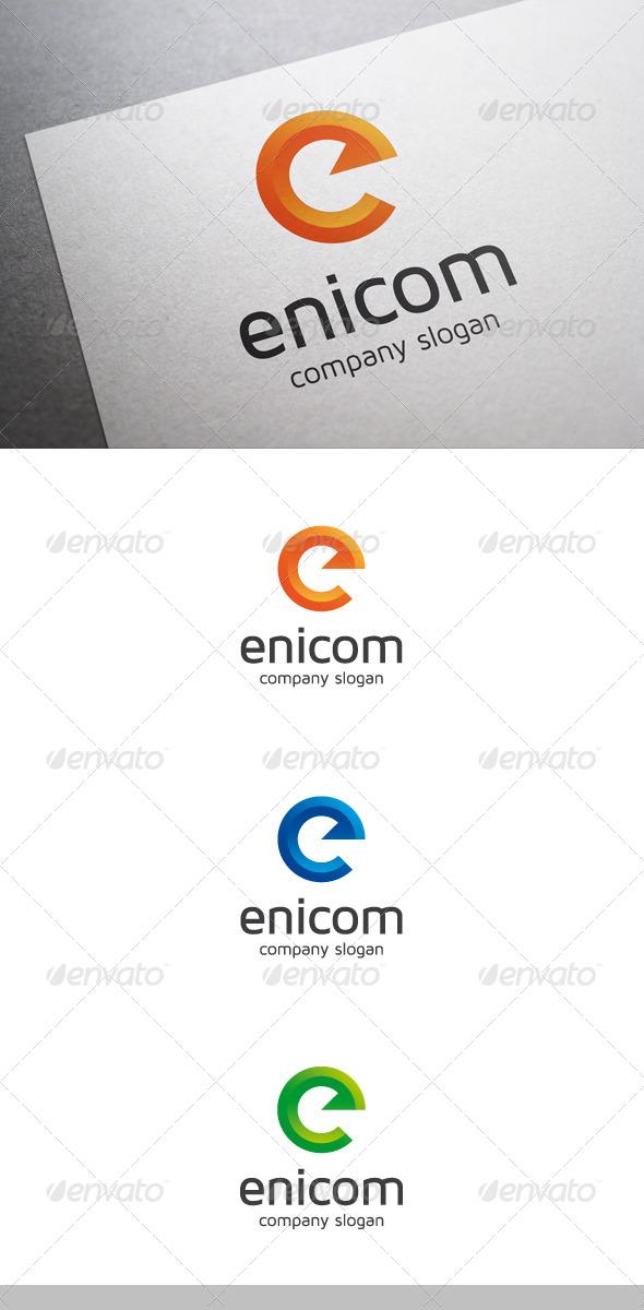 GraphicRiver Enicom E Letter Logo 7151829
