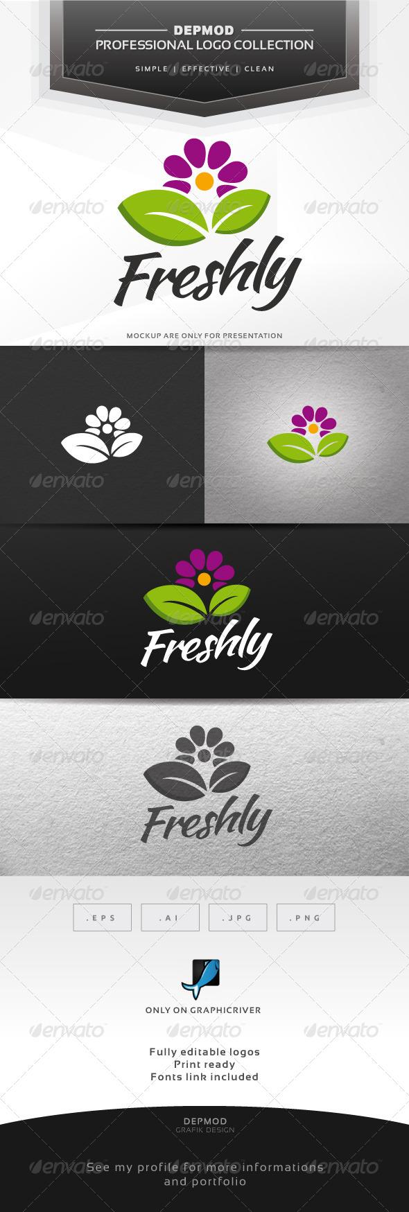 GraphicRiver Freshly Logo 7152651