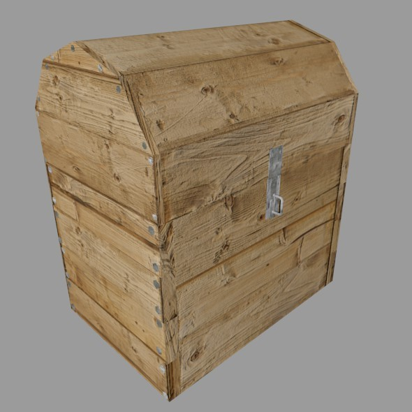 Pirate´s chest - 3DOcean Item for Sale