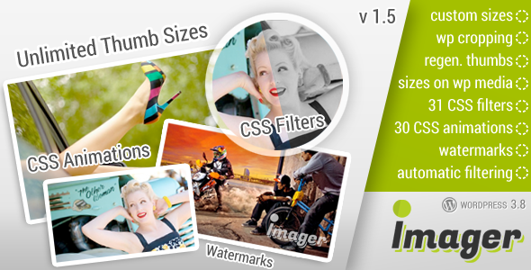 Imager Amazing Image Tool for WordPress