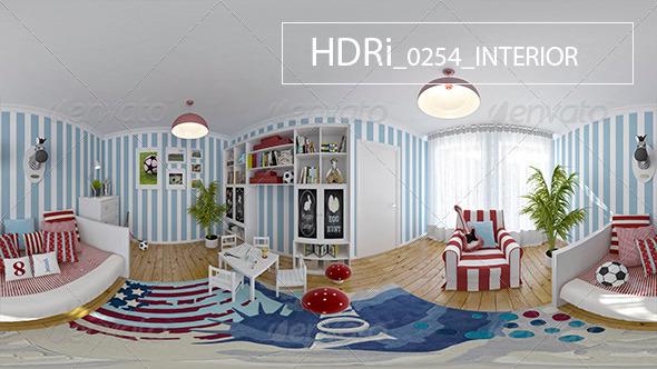 3DOcean 0254 Interoir HDRi 7152933