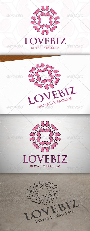 GraphicRiver Love Crest Logo 7152972