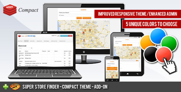 CodeCanyon Super Store Finder Compact Theme 7154236