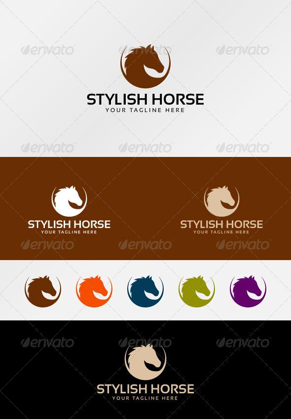 GraphicRiver Stylish Horse 7154298