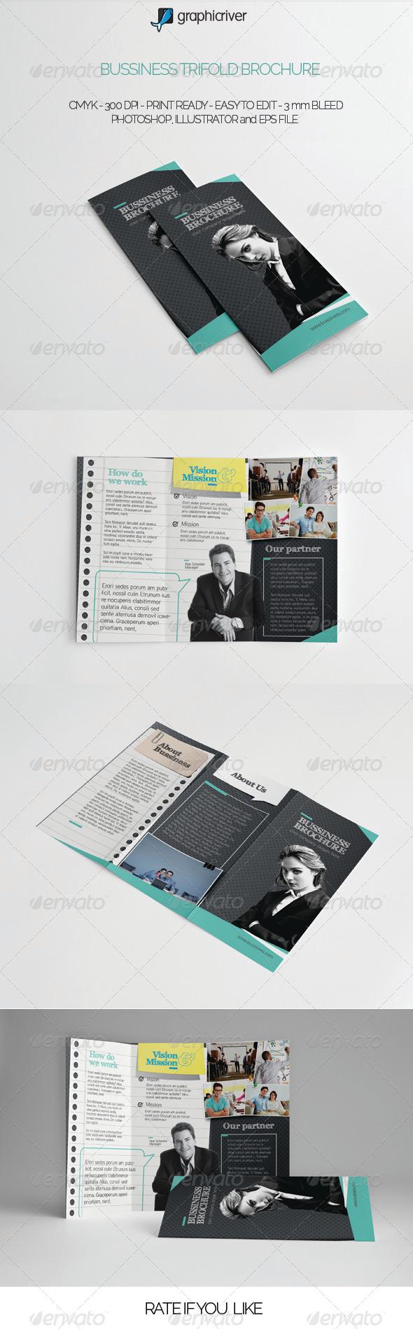 GraphicRiver Multipurpose Trifold Brochure 7155413