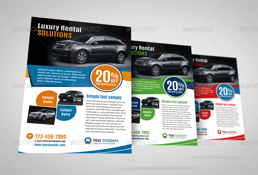 Luxury Car Sale Flyer Ad Design Template by JbnComilla – Sale Flyer Design