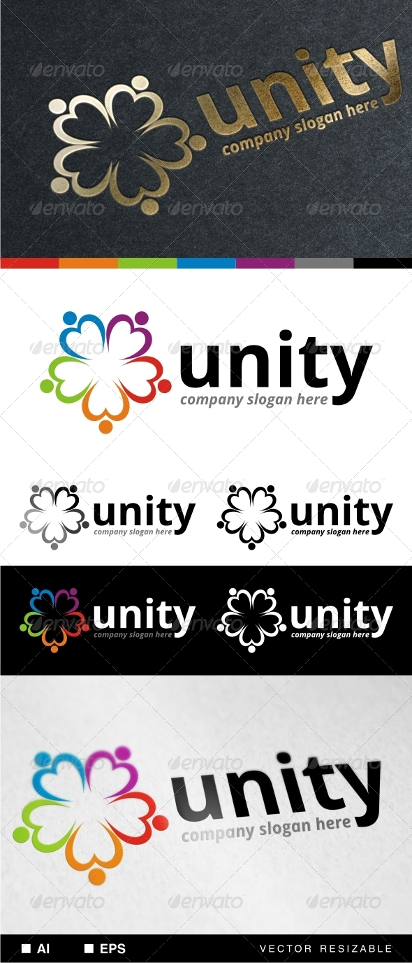 GraphicRiver Unity Logo Template 7155665