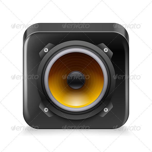 GraphicRiver Sound Icon 7155756