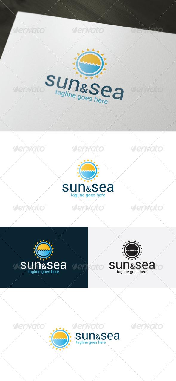 GraphicRiver Sun And Sea Logo 7155759