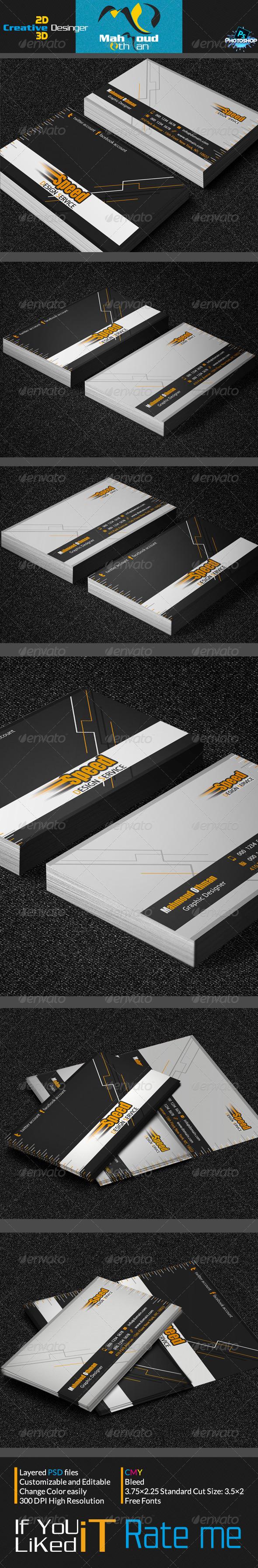GraphicRiver Creative Business Card V06 7155805