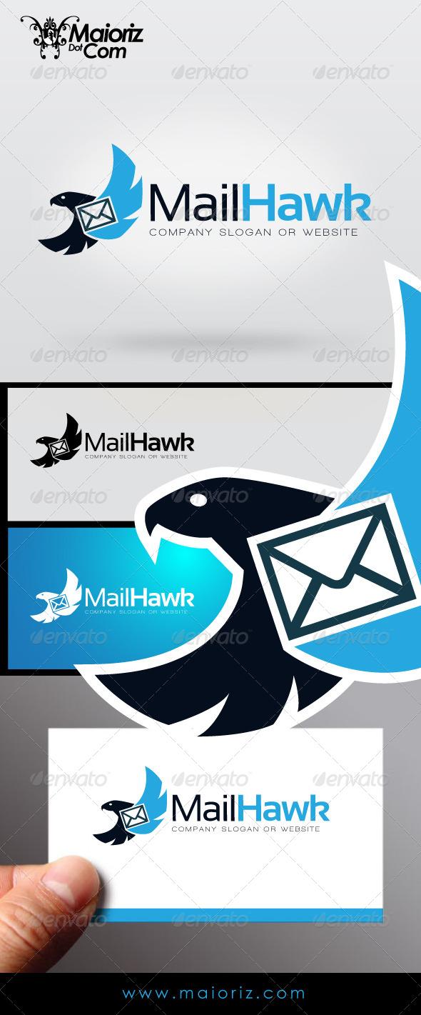 GraphicRiver Mail Hawk Logo 7156446