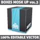 Download Vector Packages Mockup
