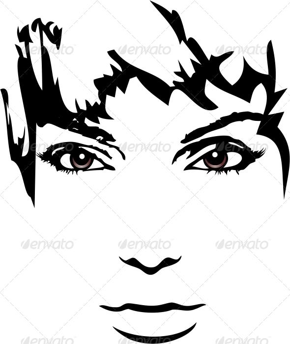 GraphicRiver Woman Face 7156524