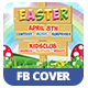 Easter Kids - Spring   Facebook Covers - GraphicRiver Item for Sale