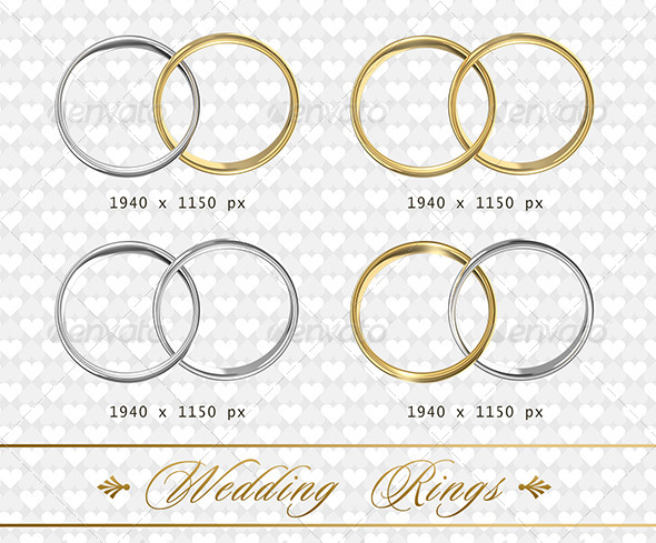 GraphicRiver Wedding Rings 7157170