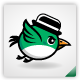 Gentle Bird Sprite Sheet - GraphicRiver Item for Sale