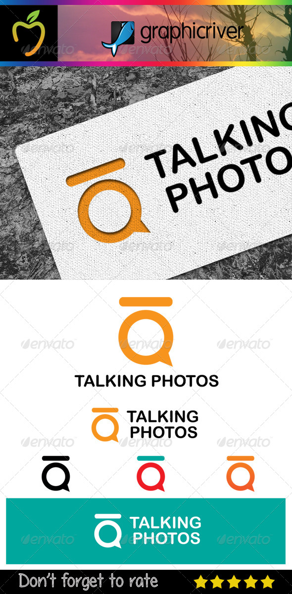Talking Photos Logo