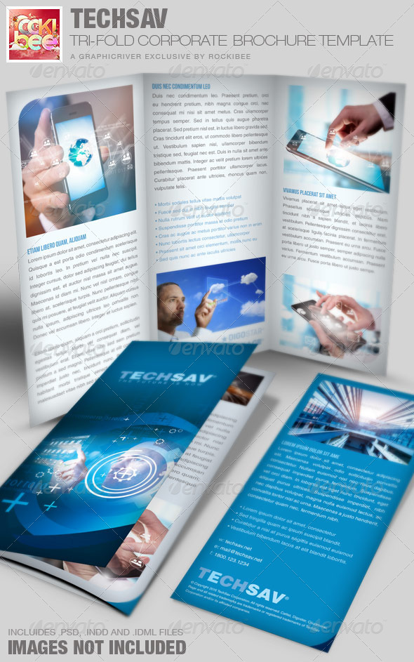 Techsav-Tri-fold Corporate Brochure - Corporate Brochures