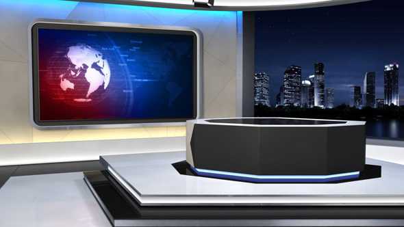 Showing Gallery For News Studio Background