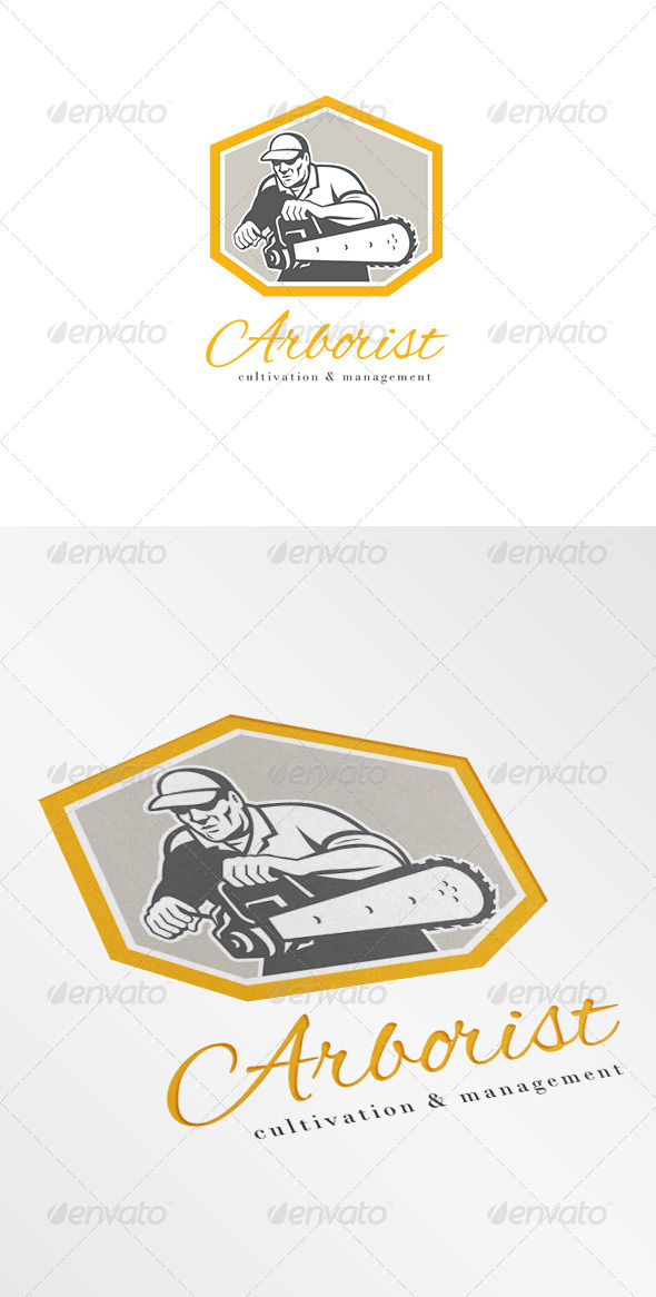 GraphicRiver Arborist Cultivation and Management Logo 7157820