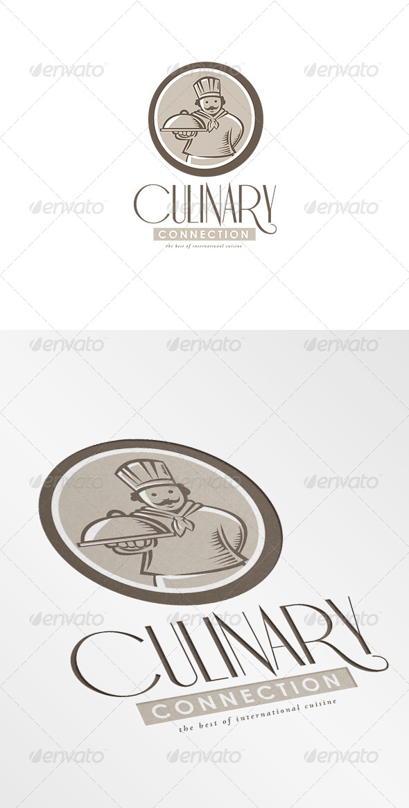 GraphicRiver Culinary Connection Cuisine Logo 7157894