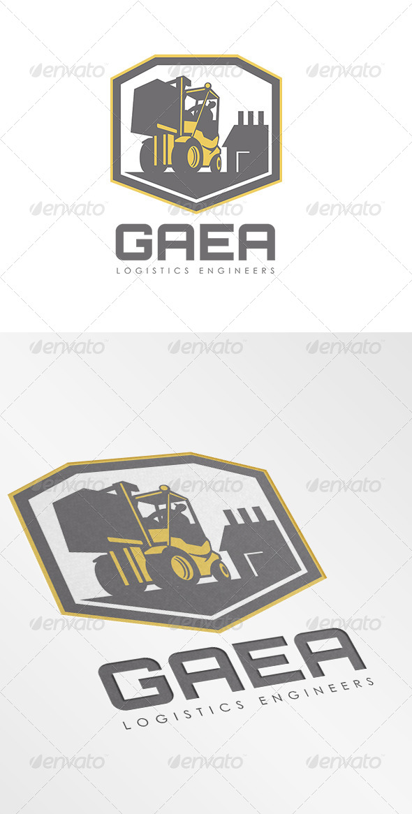 GraphicRiver Gaea Logistics Engineers Logo 7157931