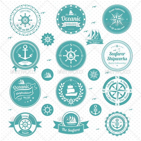GraphicRiver Nautical Icons 7158182