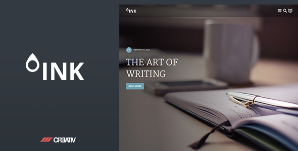 Ink Premium WordPress Theme