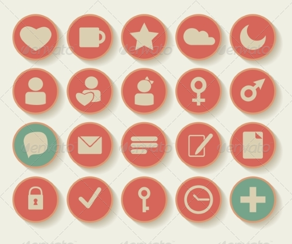GraphicRiver Set of Shopping Icons 7159219