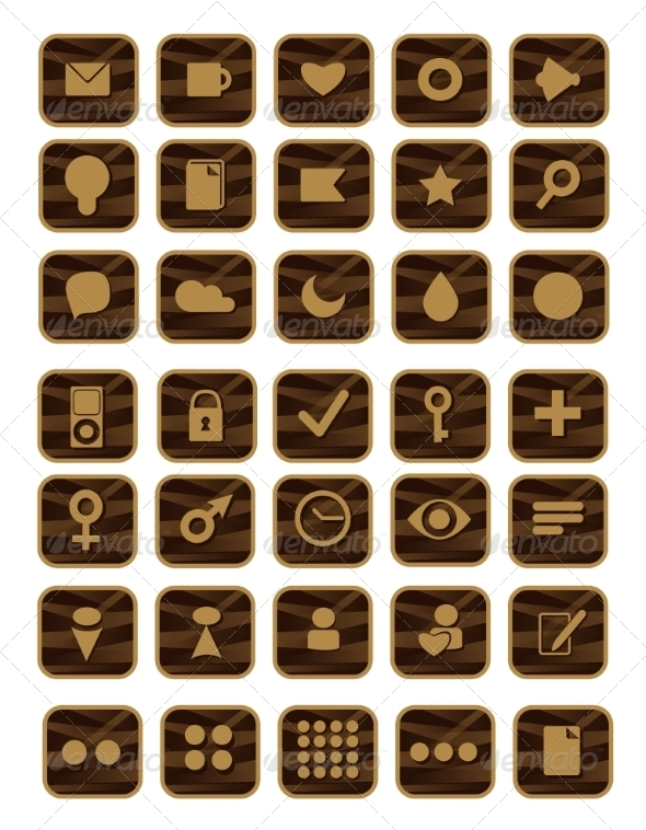 GraphicRiver Set of Shopping Icons 7159384