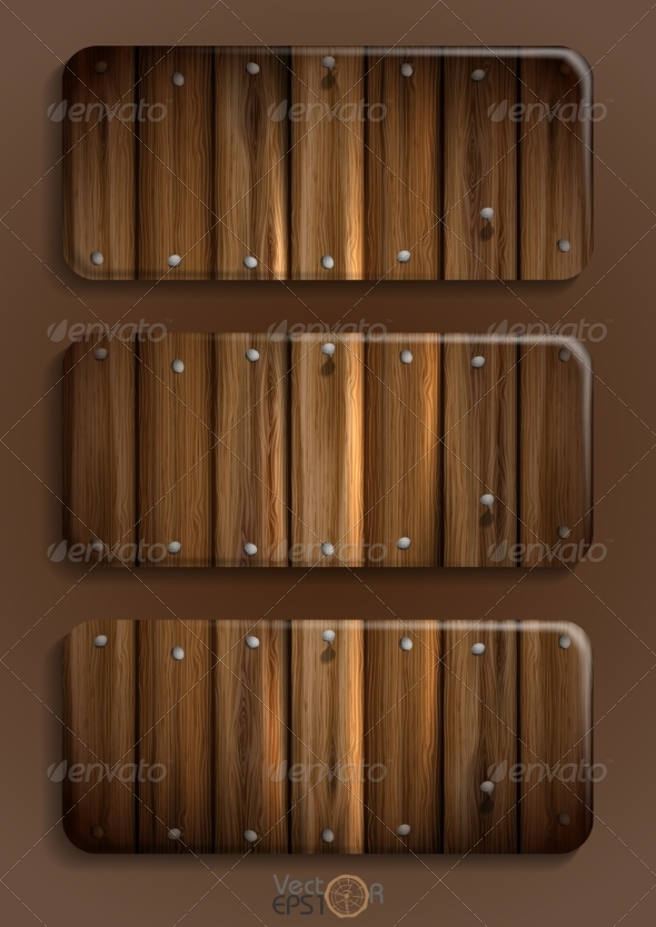 GraphicRiver Wooden Texture Banner 7159716
