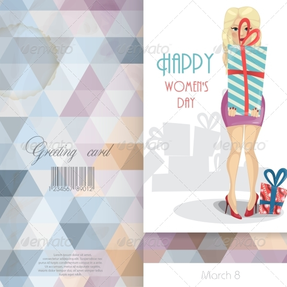 GraphicRiver Greeting Card Design Template 7159738