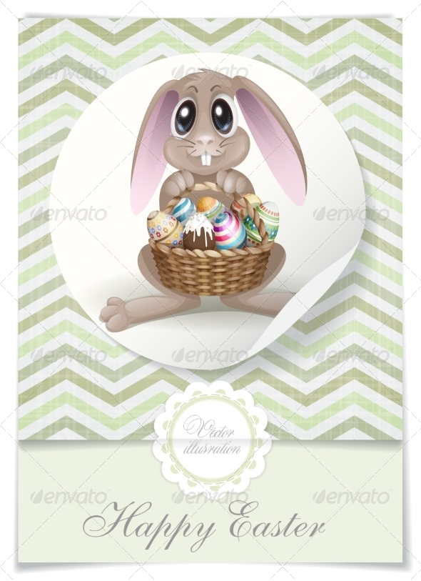 GraphicRiver Happy Easter Background 7159767