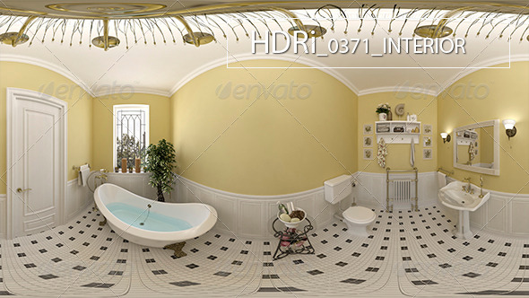 3DOcean 0371Interoir HDRi 7160400