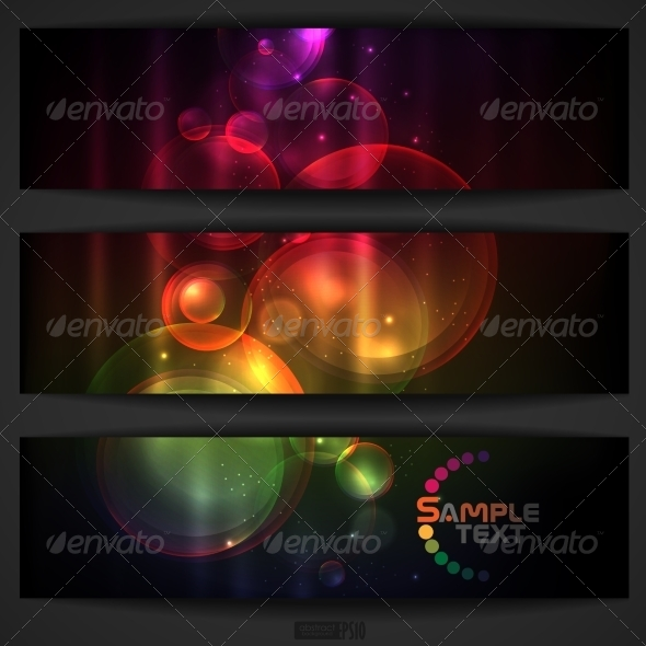 GraphicRiver Abstract Colorful Banner 7160619