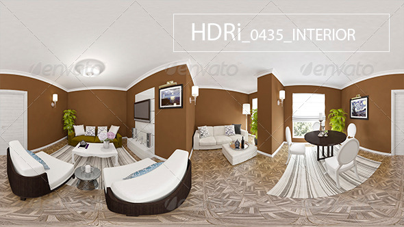 0435 Interoir HDRi - 3DOcean Item for Sale