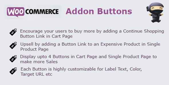 CodeCanyon WooCommerce Addon Buttons 7112841