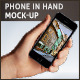Mobile Phone in Hand Mock-up - GraphicRiver Item for Sale