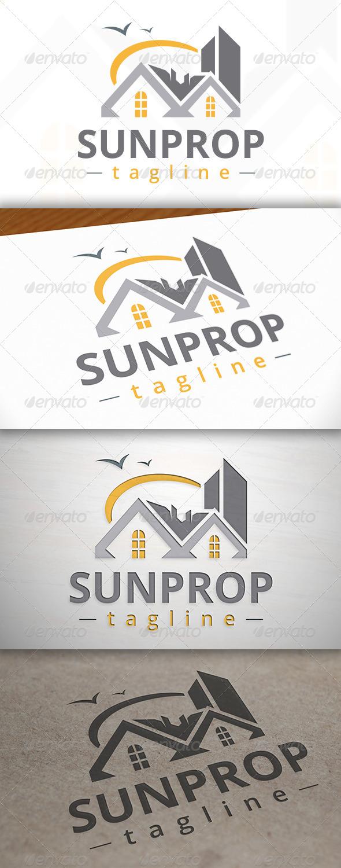 GraphicRiver Sun Property Logo 7161303