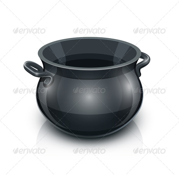 GraphicRiver Cast Iron Pot 7161855