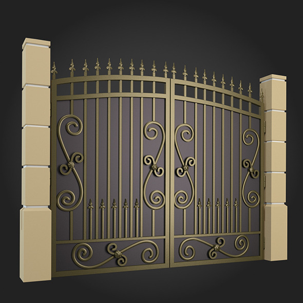 3DOcean Gate 003 7162082