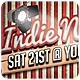 Indie Night - Flyer [Vol.20] - GraphicRiver Item for Sale