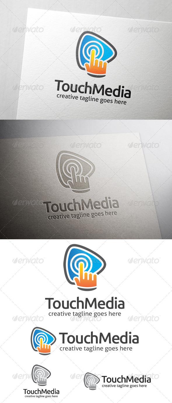 GraphicRiver Touch Media Logo 7162268